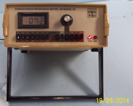 LAB EQUIPMENT Ysi CONDUCTANCE-RESISTANCE mete