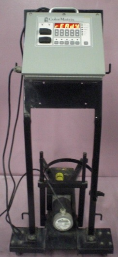 Image of POLY-ONE-COLOR-MATRIX-FLEX-CART-LIQUID-METERING-SYSTEM-WITH-ANAHEIM-AUTOMATION-STEP by BAMKO-SURPLUS PROCESS EQUIPMENT LLC.